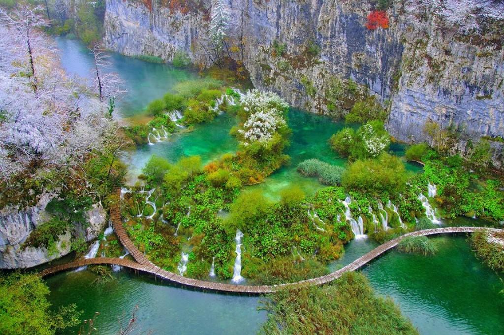 opis_NP_Plitvička_jezera_Velike kaskade na Donjim jezerima