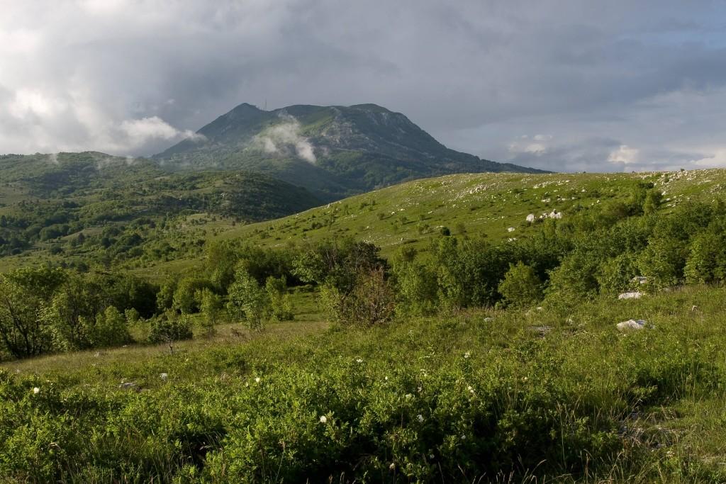 opis_PP_Učka_Pogled s Bodaja na vršni greben - Egon Vasilić