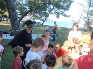 Educiranje najmlađih posjetitelja o prehrani šišmiša