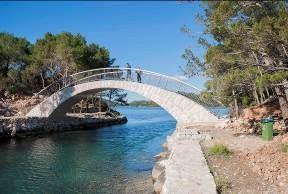 Mljet Jezera - Veliki most